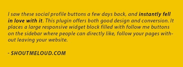 WP Flat Social Profile Blocks - 2